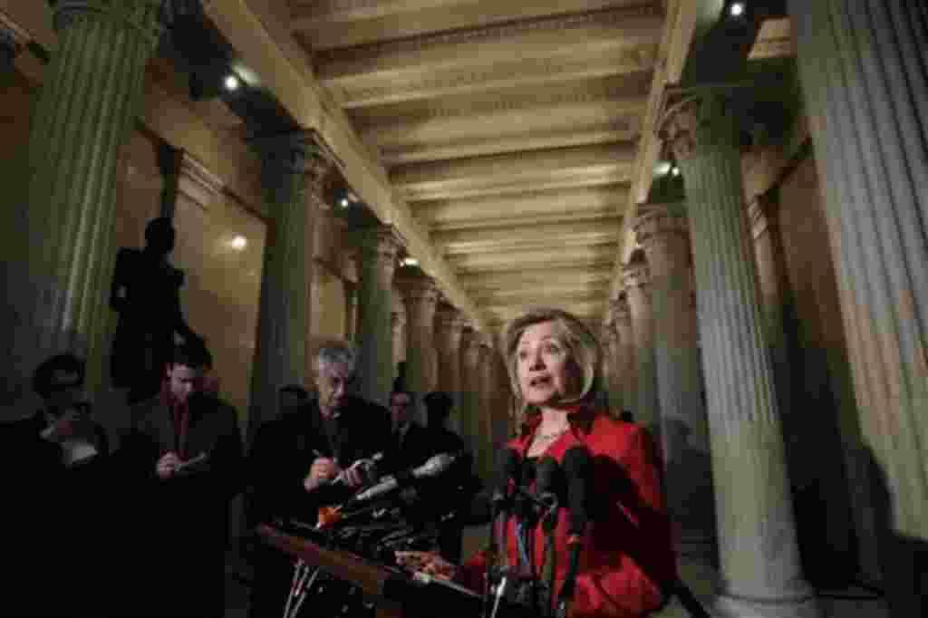 Hillary Clinton, secretaria de Estado de EE.UU., por décadas ha sido una figura relevante en la lucha por los derechos de la mujer.