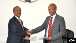Eritrea and African Development Bank sign agreements to finance two USD 41 million projects