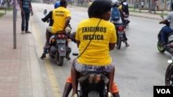 Angola manifestantes