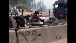 救援人員稱阿勒頗遭氯氣攻擊