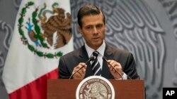 El presidente Peña Nieto anunció 10 medidas de largo alcance para mejorar la vida de los mexicanos