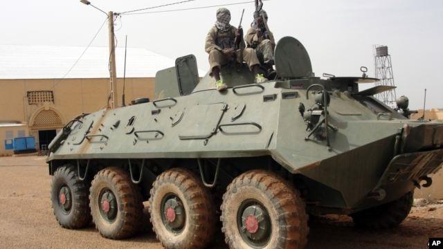 말리의 이슬람 무장세력(자료사진)