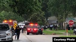 Фото с места событий Полицейского управления Хьюстона (Houston Police Department)