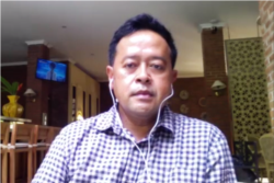 Ketua Gabungan Industri Pariwisata Indonesia (GIPI) DI Yogyakarta, Bobby Ardyanto dalam tangkapan layar.