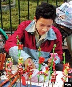 Đặng Văn Hậu 1998. (Hình: Trịnh Bách)