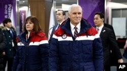 د امریکا مرستیال جمهور رئیس په جنوبي کوریا کې د ژمني المپیک د لوبو د پرانستلو مراسمو ته تللی دی