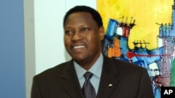 Hama Amadou, opposant et candidat à la présidentielle au Niger.