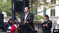 Ferhat Göçer Washington Türk Festivali'nde Sahneye Çıktı