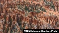 Taman nasional Bryce Canyon di Utah (foto: dok).