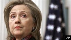 Secretary of State Hillary Clinton (file photo)