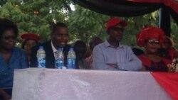 UNkosazana Thokozani Khupe Uthatha Isikhundla Sika Tsvangirai