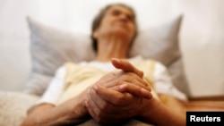 Pasien Alzheimer menderita ingatan kognitif yang semakin berkurang (foto: dok).