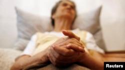 Isidora Tomaž, 82-godišnja pacijentkinja obolela od Alchajmera (arhiva)