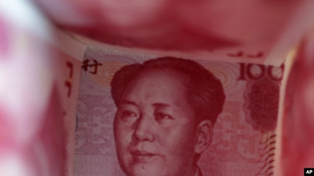 A 100 Yuan note (file photo).