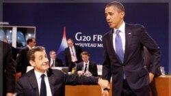 ملاقات خصوصی اوباما و سارکوزی در روز ۳ نوامبر در آستانه نشست اقتصادی ۲۰ G سرخط خبرهای بین المللی شد