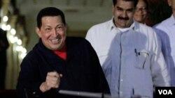 El gobierno de Venezuela señaló en un comunicado que el problema en la pelvis fue detectado en La Habana, donde se había encontrado con Raúl Castro.