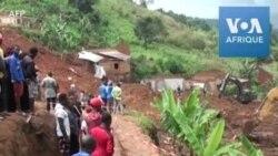 Cameroun : les survivants du glissement de terrain de Bafoussam désespérés