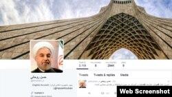 حسن روحانی در توییتری که فیلتر است علیه فیلترینگ مینویسد.
