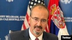 Entoni Godfri, ambasador SAD u Srbiji (Foto: Tviter nalog ambasadora SAD)