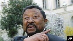 Jean Ping, président de la commission de l'Union africaine