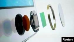 """El botón del iPhone conocido como """"Home"""" posee un sensor para identificar la huella dactilar de su dueño, evitando que una persona no autorizada lo utilice."""