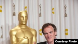 Tarantino đoạt giải Oscar về truyện phim Django Unchained.
