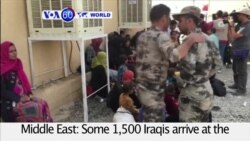 VOA60 World PM - Aid Group: Thousands Have Fled Mosul