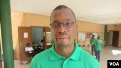Rito Mabunda, Coordenador do Programa de Florestas no WWF em Moçambique