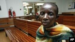 乌干达感染艾滋的妇女(资料照片)