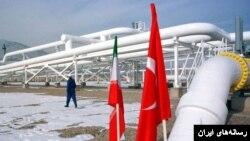 تاسیسات صادرات گاز ایران به ترکیه