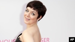 FILE - In a May 10, 2015 file photo, Sheridan Smith poses for photographers upon arrival at the BAFTA Television awards in central London.