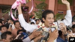 Chea Mony, president of Cambodia's Free Trade Union of Workers.