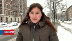 New York'ta Kar Yağışı Sürüyor