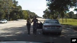Snimak sa kamere postavljene u policijski automobil