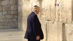 Visita de Pdte. Donald Trump a Jerusalén