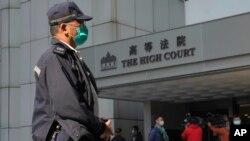 香港高等法院(資料圖片)