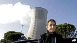 فرانس کے صدر نکولس سارکوزی نیوکلیئر توانائی کے پُر جوش حامی ہیں۔
