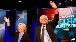 Hillary Clinton y Bernie Sanders participan de un cabildo abierto el miércoles y debatirán el jueves en New Hampshire.