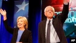 Clinton da Sanders 'yan Democrats dake neman shugabancin Amurka a zabe mai zuwa