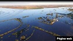 La histórica inundación fue causada por la crecida del río Salto, el cual llegó a subir 9,58 metros, según los bomberos.