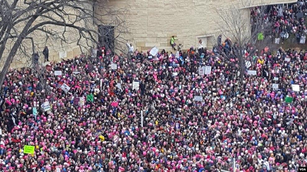 """""""Marshimi i grave"""" mbush rrugët e Uashingtonit"""