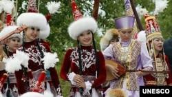 اواز دسته جمعی نوروزی در تاجیکستان