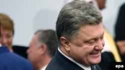 Le président de l'Ukraine, Petro Porochenko. epa/MARTIN BUREAU / POOL MAXPPP OUT