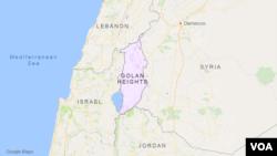 Dataran Tinggi Golan.