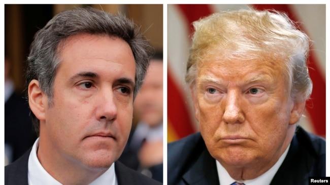 Ông Trump tỏ thái độ tức giận với ông Cohen