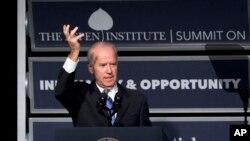 El vicepresidente Joe Biden afirma que los refugiados sirios no representan un peligro para el país.