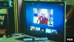 紀錄片《對話》講述身處印度的達賴喇嘛,首次透過互聯網視頻與中國國內的多位維權人士展開對話
