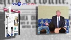 VOA60 Elections - The Detroit News: Donald Trump was admonished by the pastor of the church where he was speaking