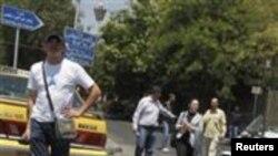 دمشق بم حملے کے بعد