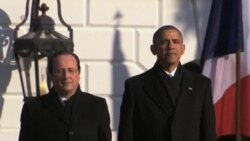 Obama Welcomes Hollande to White House
